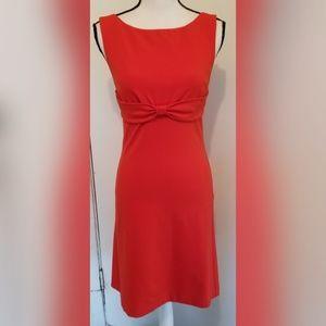 Diane Von Furstenberg Solid Orange Dress Summer